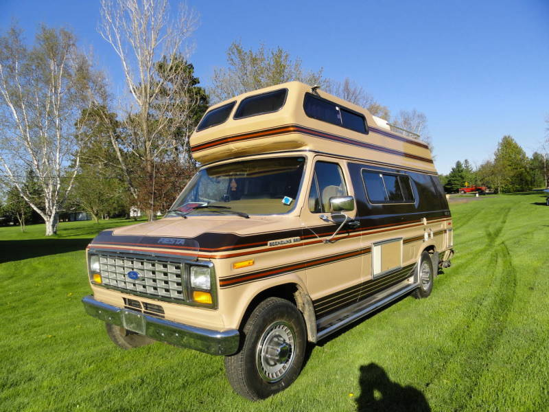 1987 ford e250 fiesta camper van very clean with only 53000 miles